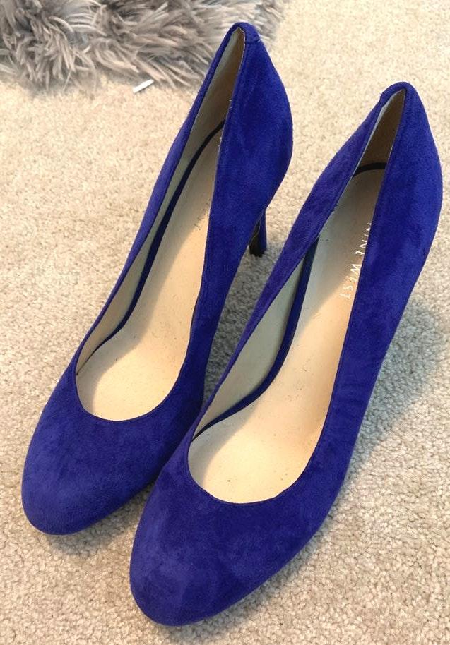 Nine West Blue High Heels