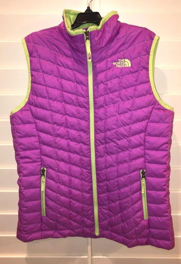 8d425e5c2 The North Face Girls North Face Thermoball Vest