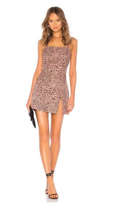 by the way. Leopard Semi Dress