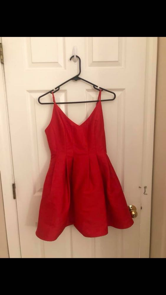 DO+BE Red Short Dress