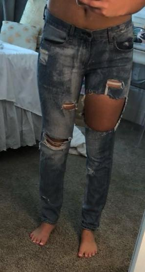 Rag & Bone Destroyed Jeans