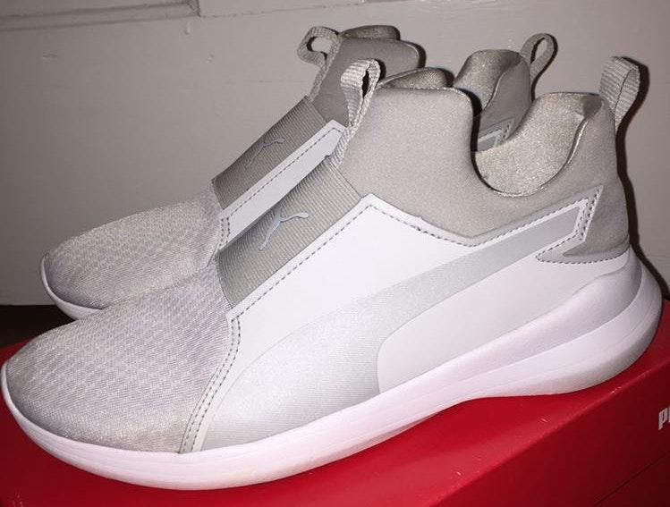 Puma Grey  Slip-on Sneaker