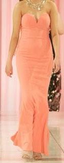Jarlo London Mermaid Floor Length Dress