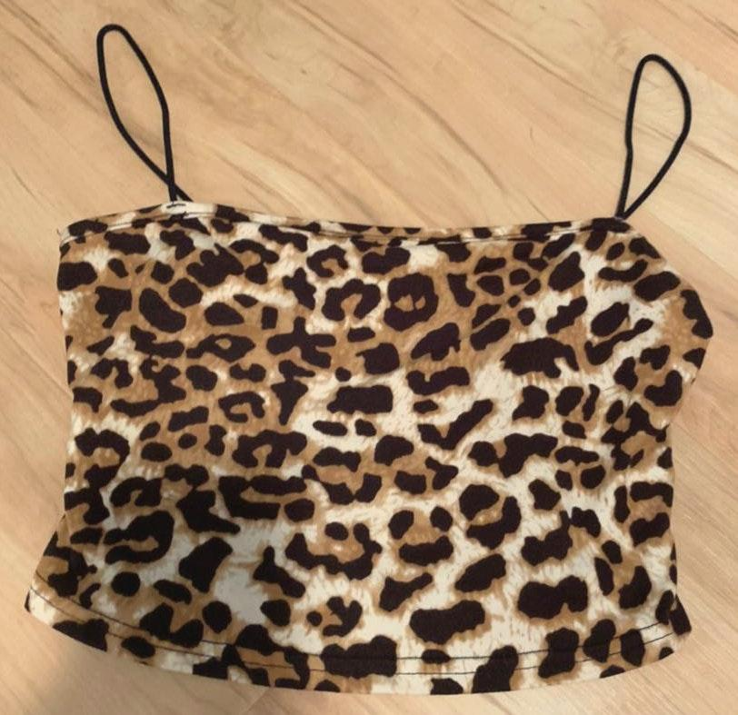 SheIn Cheetah print tank top