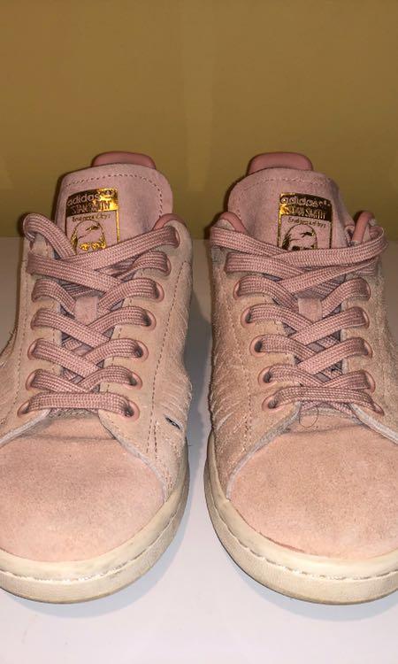 adidas blush and gold