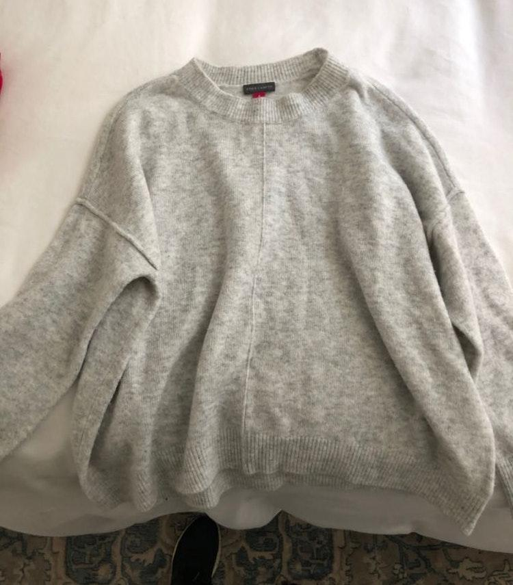 Vince Camuto Grey Sweater