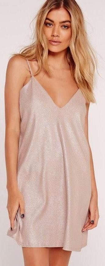 Missguided strappy cami dress
