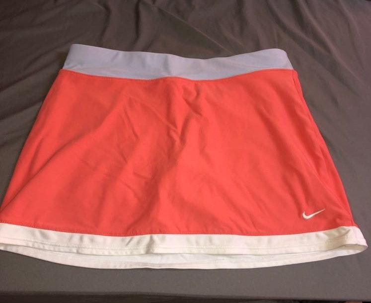 Nike Salmon Tennis Skirt