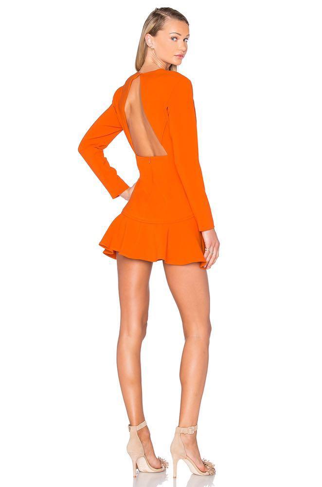 Finders Keepers Orange Dress