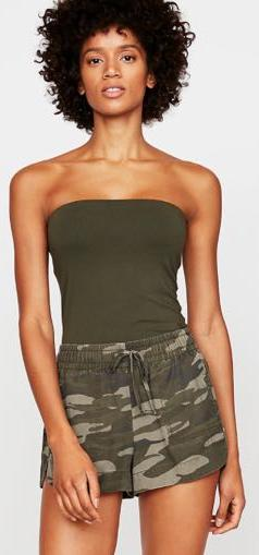 EXPRESS Camo Draw String Shorts