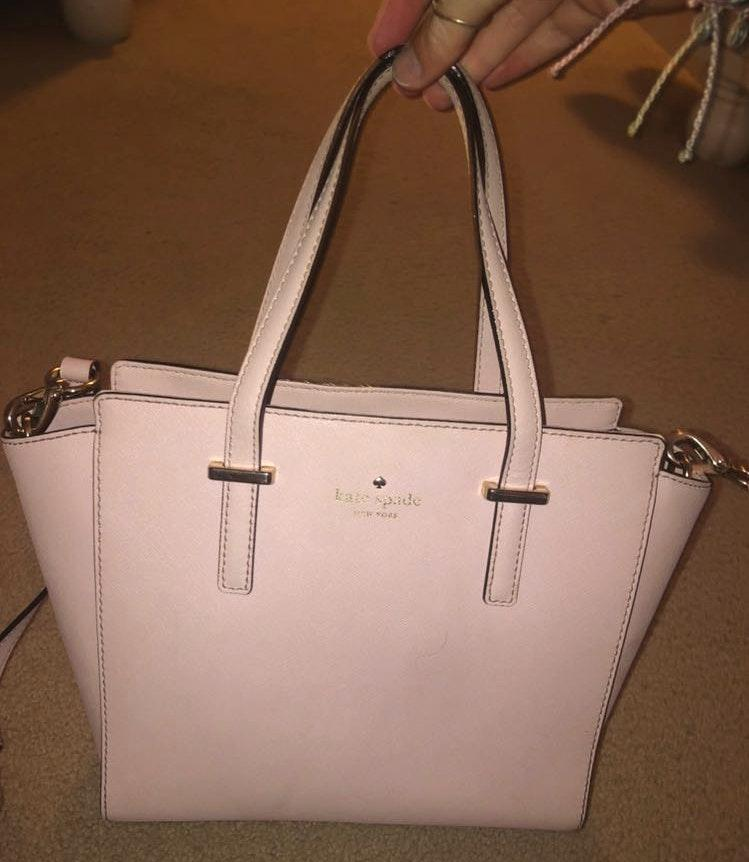 Kate Spade Light Pink  Leather