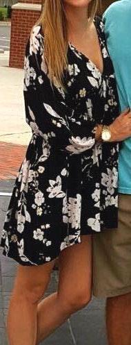 Billabong Oversized black  dress