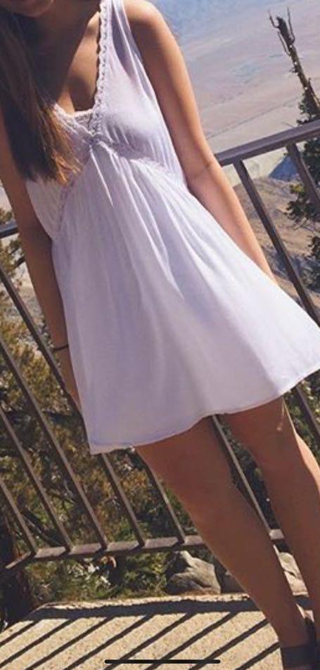 Kendall & Kylie Boho White Dress