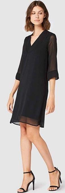 Truth NYC Black A-line Mini Dress