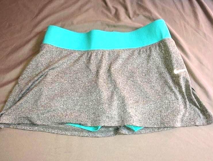 Nike Grey tennis skirt