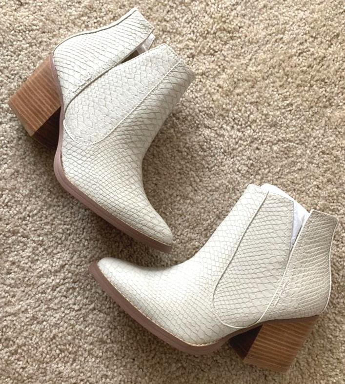 Not Rated Ankle Booties