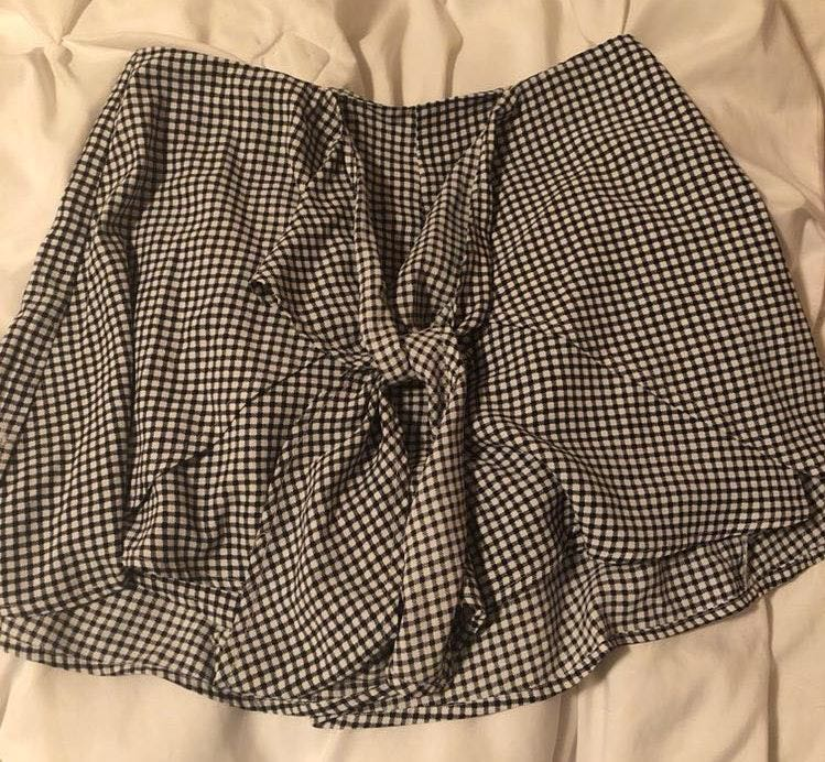 Dress Up Checkered Shorts