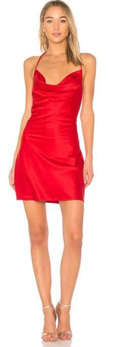 WYLDR Red Cocktail Dress