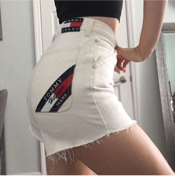 Tommy Hilfiger Vintage  High Waisted Shorts