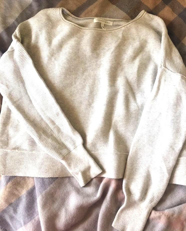 Victoria's Secret Gray Sweater