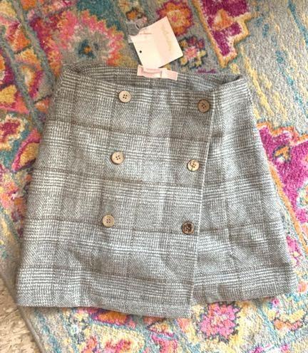 Showpo Grey Tweed Skirt