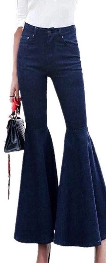 Amazon Bell Bottom Tassel Jeans