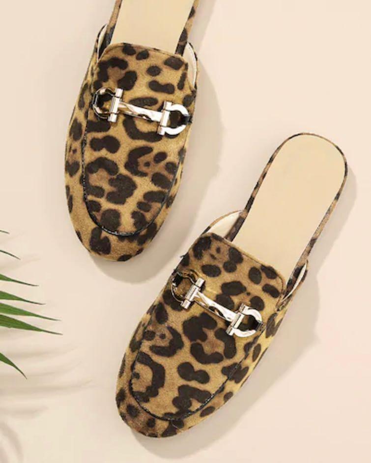 SheIn Leopard Loafers
