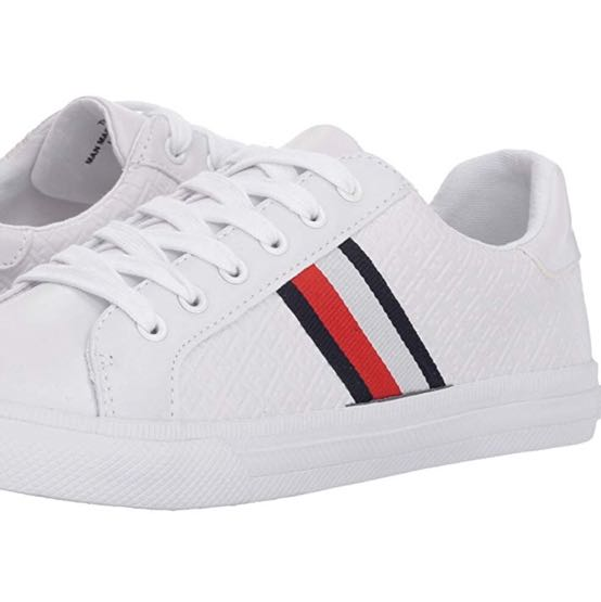 Tommy Hilfiger White Sneakers With Logo