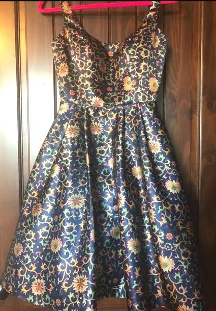 Sherri Hill Prom/semi formal floral dress