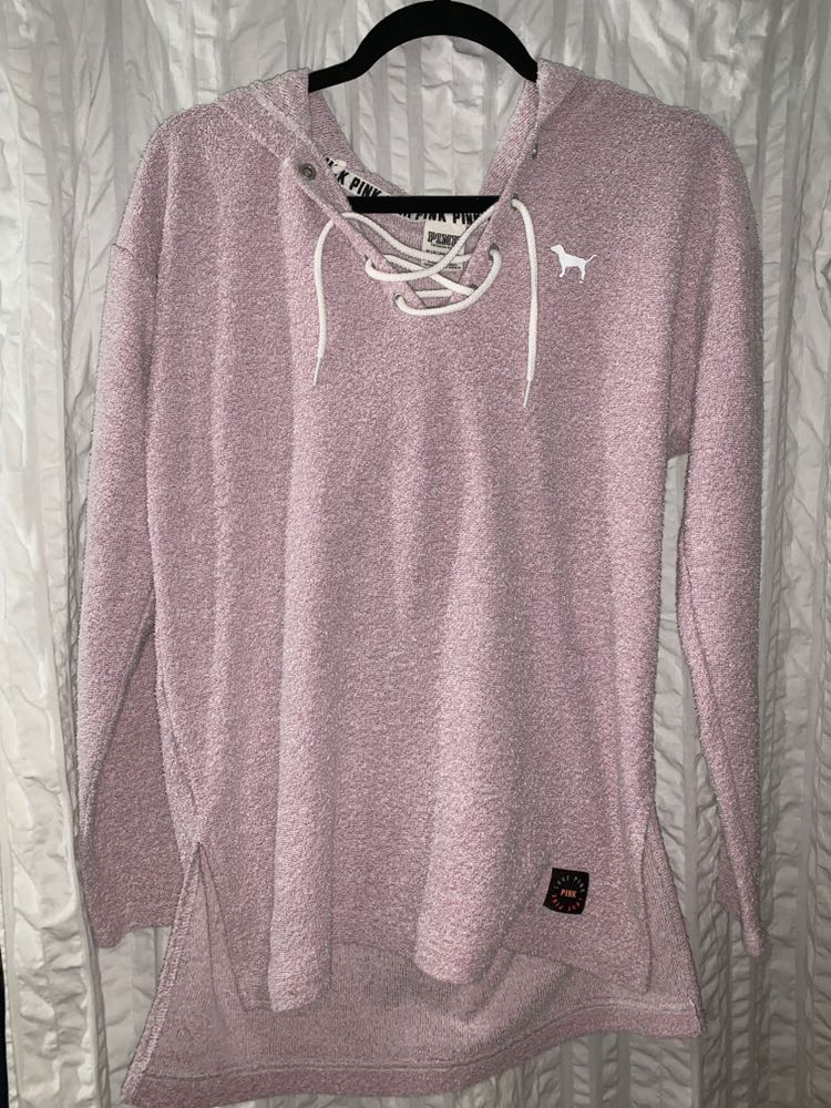 PINK Victoria's Secret Long Sleeve Lilac Sweatshirt PINK