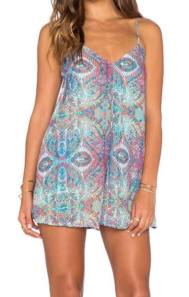 Show Me Your Mumu Rascal Romper In Great Barrier Reef