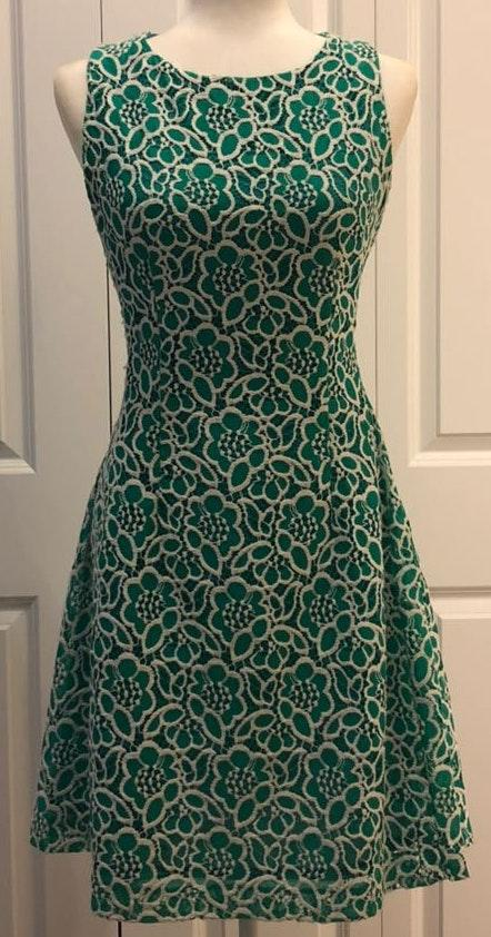 New York & Co. Floral Lace Dress