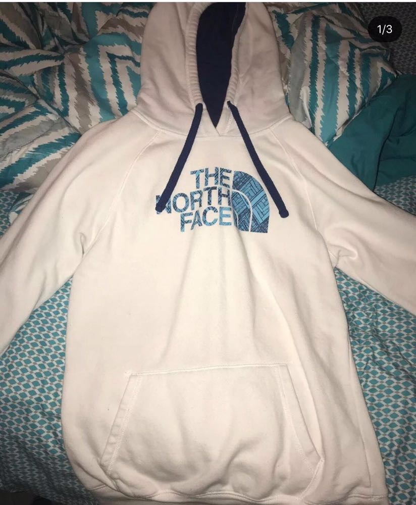 The North Face White north face sweatshirt