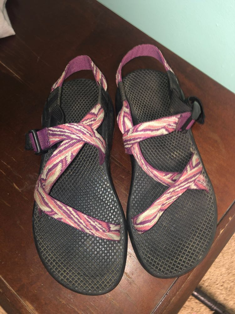 WILL WASH— pink chacos
