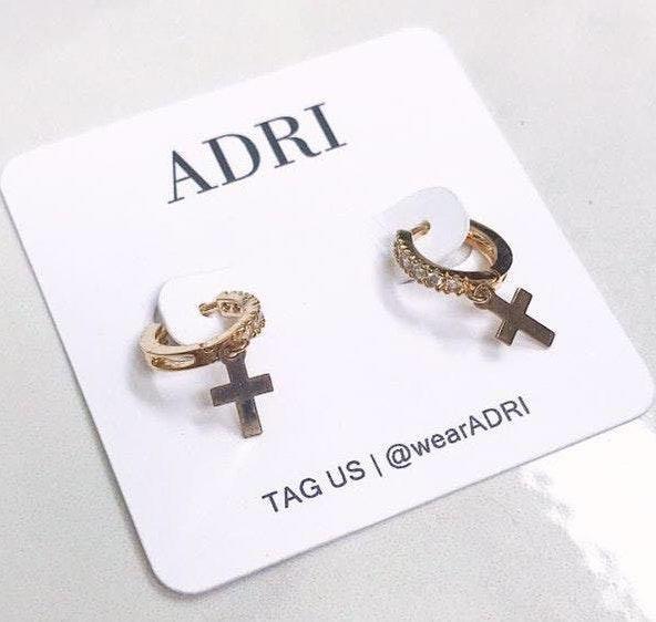 Handmade ADRI | 14k Gold Filled Cz Huggie Earring