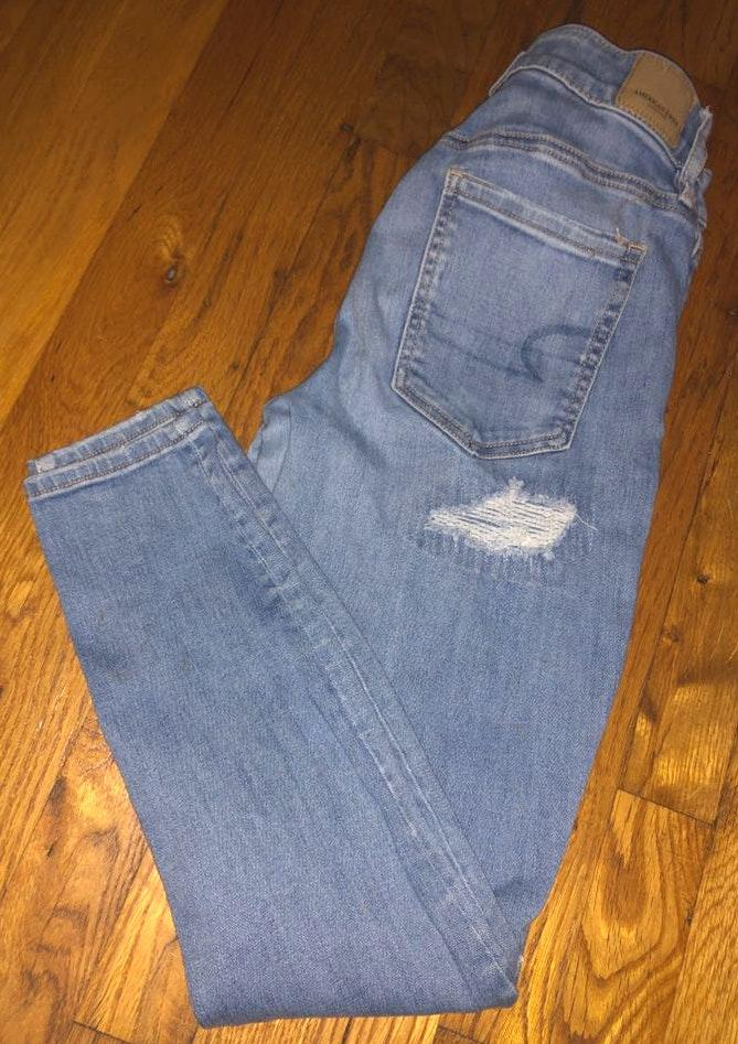 American Eagle Outfitters Light Jeans