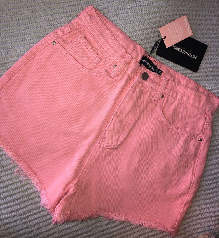 Pretty Little Thing Pink shorts