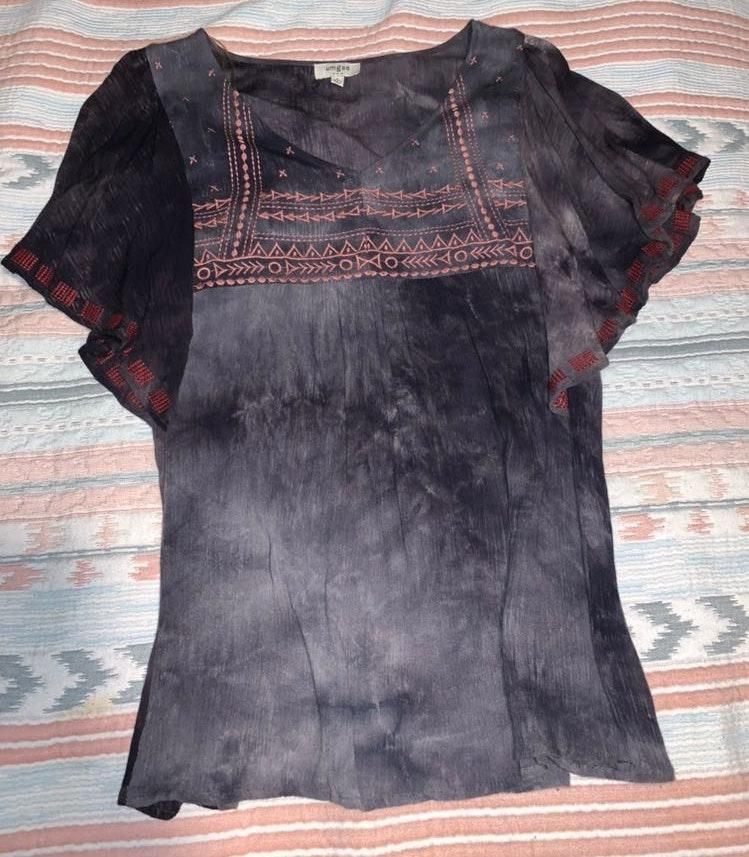 Umgee Embroidered Top