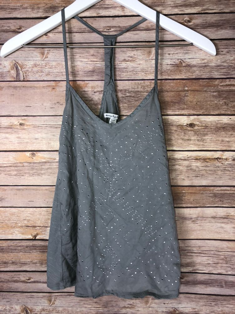 American Eagle Outfitters Grey Tank