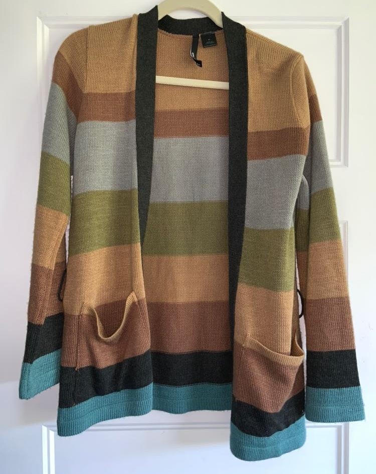 O'Neill Color Blocked Cardigan
