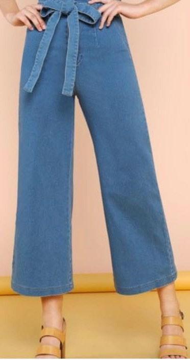 High waisted Flair Jeans