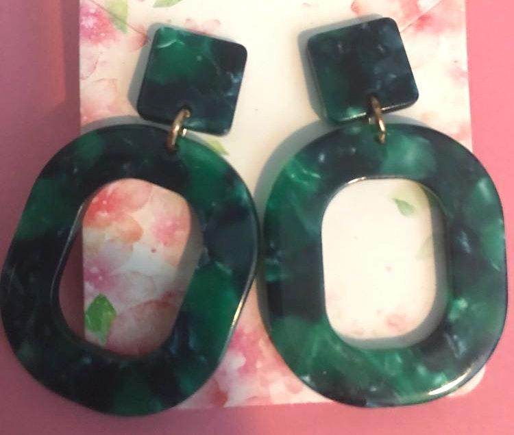 BaubleBar Green  Earrings
