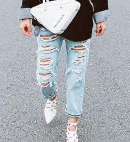 Levi's High Waisted Button Up Jeans