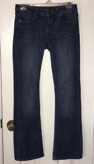 Banana Republic Blue Bootcut Jeans