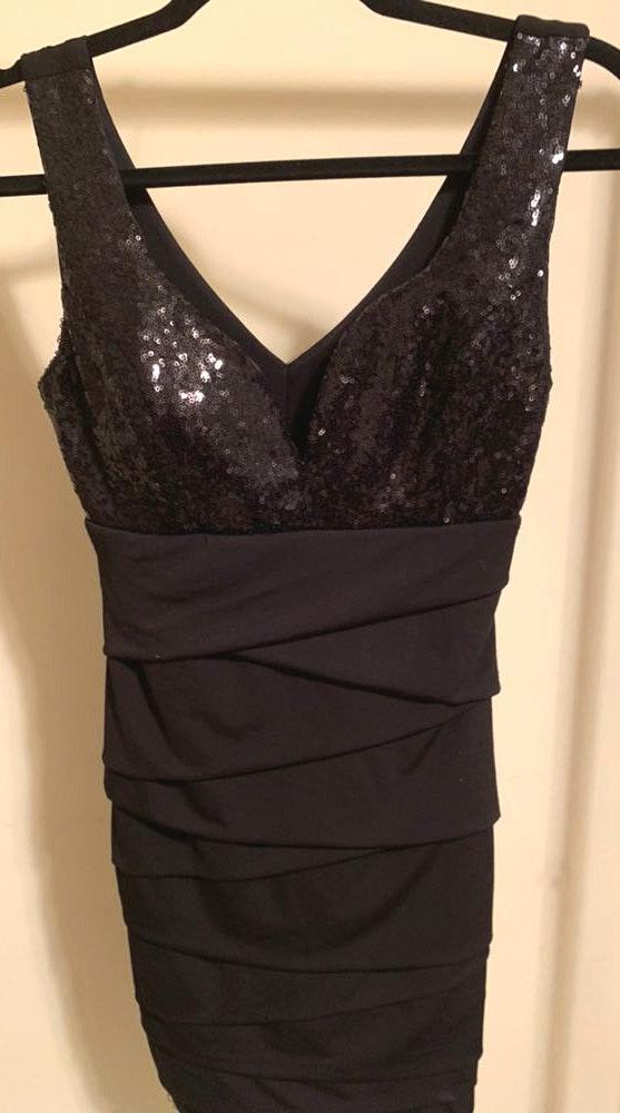 Von Maur Black Dress