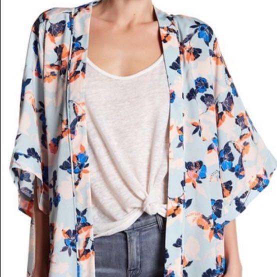 Ro & De Floral Kimono