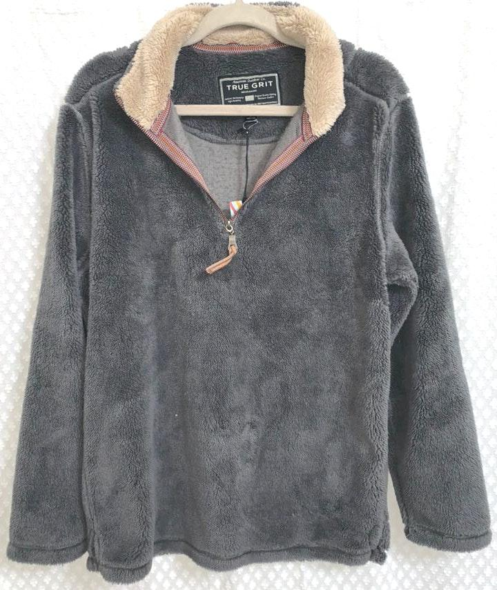 True Grit Gray Pullover