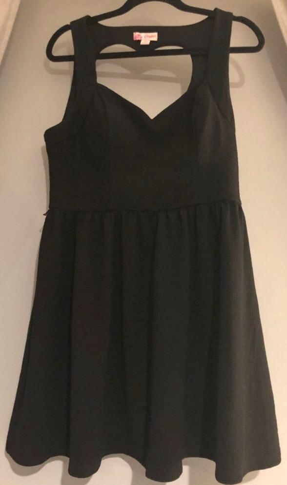 Candie's Black Dress