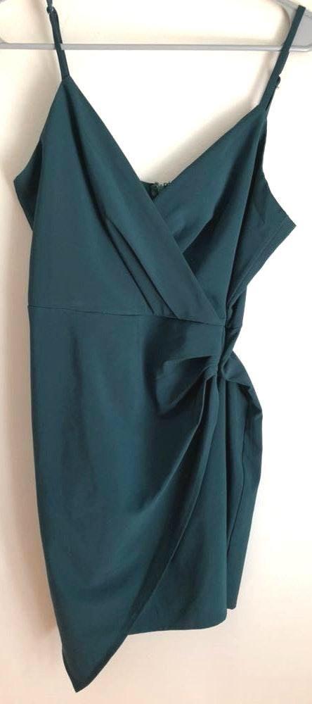 Lulus Green Envelope Mini Dress