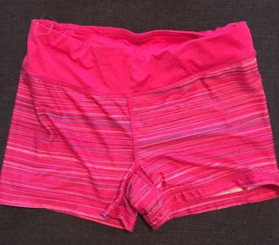 Pink Compression Shorts